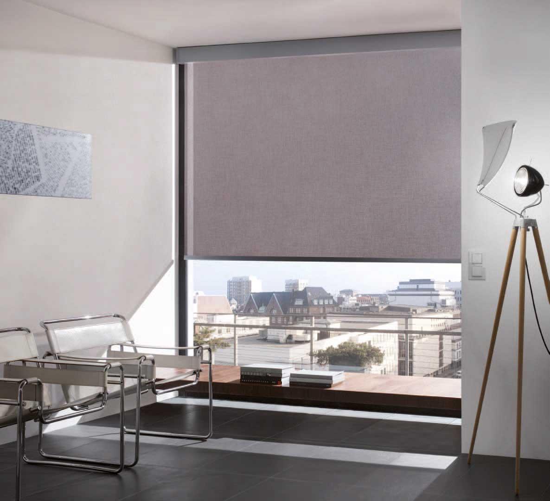 Innvendig screen, lekker solskjerming og innsynshindring.