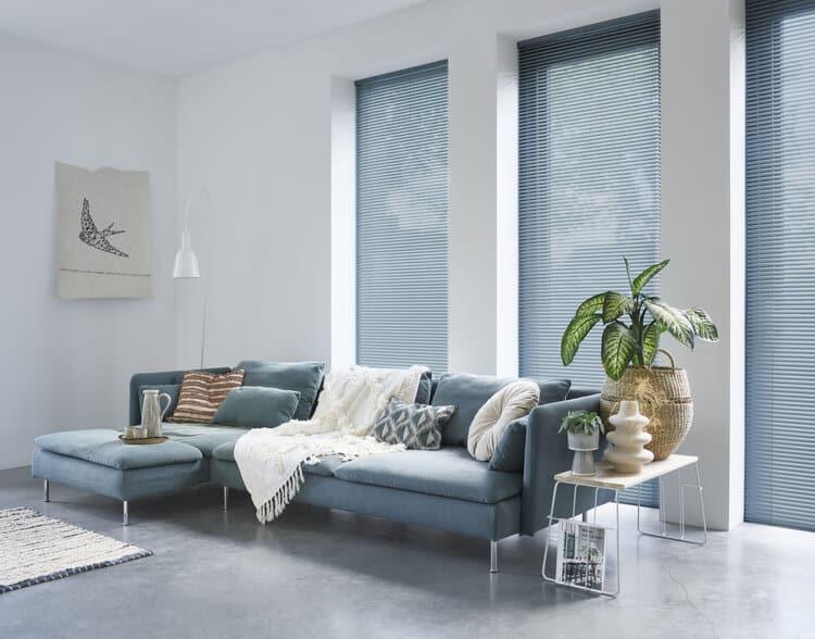 Persienner passer godt inn i moderne og minimalistiske hjem