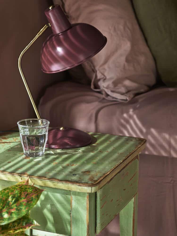 Deilig på soverommet med persienner